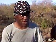 hot round african stunner fucked at my safari