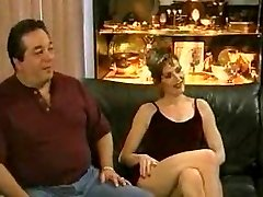 Waching his sexy wife screwed hard by a big black cock...