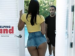 Gina Valentina in A Helping Hand - BlackIsBetter