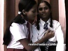 Indian School Girls Filmed By Teacher In Girly-girl Romp