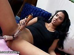 Best pornstar Karmen Bella in Incredible Dildos/Toys, Solo Dame adult video