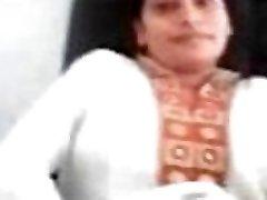 Indian girl fingering front her Boyfriend