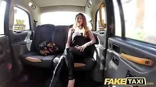 Fake Taxi Bootylicious big tits with ginger bush vagina wants cock
