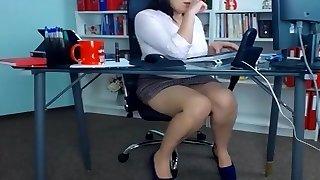 Wondrous  secretaries at the office
