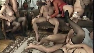 Anal bang-out with scorching older women who love it when young guys pummel them