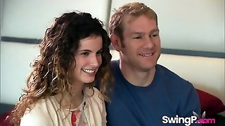 Swinger couples going insane in reality flash