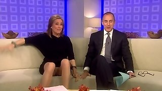Meredith Vieira Upskirt On The TODAY Demonstrate