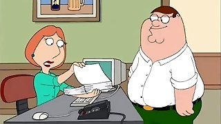 fam Guy Office Sex - Lois Butted Romped