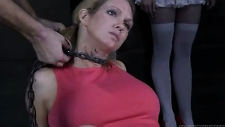 Hilarious BDSM Woman Insane Makeout