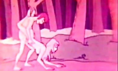 Funny Hardcore Sex Animation (1960s Vintage)