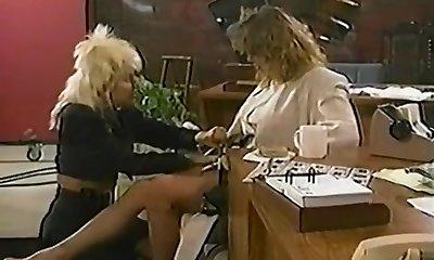 Tracey Adams And Sharon Kane Lezzy Fuckfest