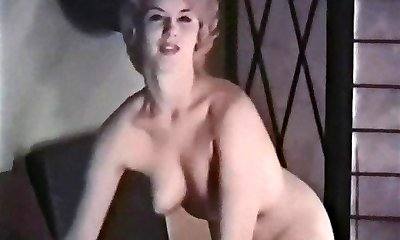 PERHAPS - vintage blonde striptease stockings mittens