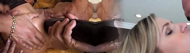 Several wanton hookers and one crazy boy perform rigid anal 4 some