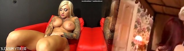 Duchess Dani Masturbating With A Very Off The Hook Plaything
