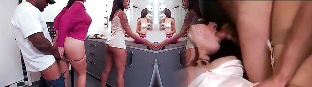 Fabulous pornstars Skin Diamond and Jayden Jaymes in hottest good-sized butt, interracial hard-core vid