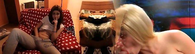 Amazing Brown-haired Webcam Masturbation