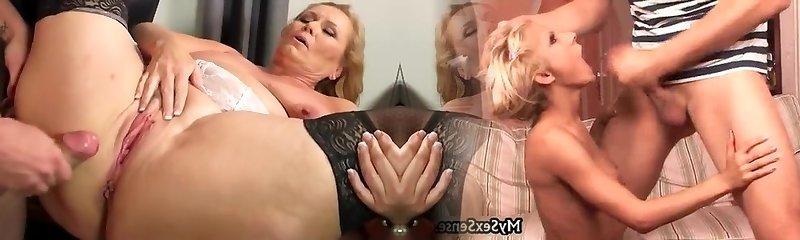 Best homemade Mature, Stockings sex vid