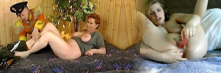 Kira Red with midget (Great video)