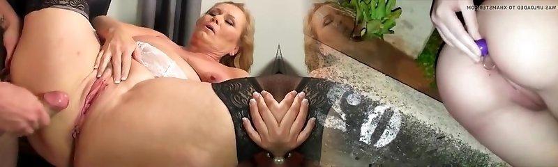 Best homemade Mature, Stockings fucky-fucky video