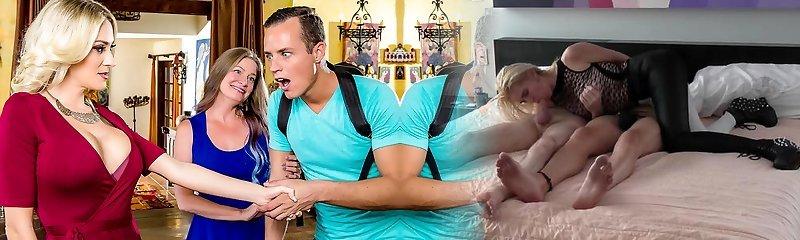 Blake Morgan & Justin Hunt in My Mommy's Best Friend - DigitalPlayground