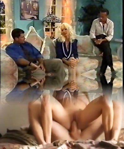 Blonde Ultra-cutie ANAL, DP, High Heels, Vintage, Helen Duval