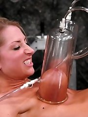 boob bondage breasts torture