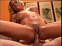 Deep inside a cheap hairy fuckslut