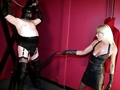 Whipping and leather