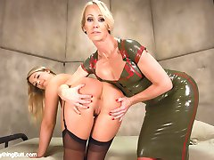 Simone Sonay is making an Army of Anal Soldiers and needs Jenna Ashleys ASS but first, Jenna...