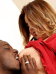 Horny and sultry fatty Marisella gets wild and gives an ebony stud a ride in her fat and juicy...