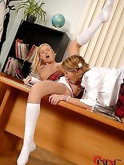 Schoolgirl Foot Fetish Chaos