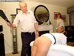 Strict domestic discipline for two stunning beauties