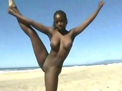 Black Girl Flashing