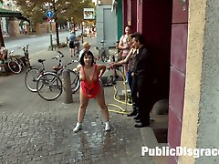 Busty Bitch Pina De Luxe is a Filthy Whore who needs Mona Wales to wash out her slutty dirty...