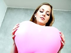 I have always thought balloons felt so good, something about that soft sticky latex against my...