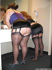 Two BBWs share room