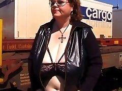 Huge titted granny Gretl