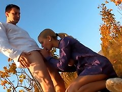 This blonde nympho had a secret for her lover. Underneath her dress, she wasn092039t wearing any...