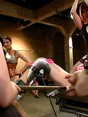 Lorelei Lee throws Aiden Starr and Maitresse Madeline a joint birthday to remember. Live and...