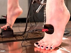 Watch the genuine fear in Ella Novas eyes as shes pushed to her limits with electro predicament...