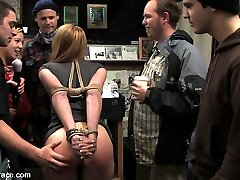 Ami Emerson gets tied up and taken for a tour of some local San Francisco shops. While out on...