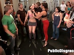 Cheyenne Jewel is one tough babe, but she makes an even better filthy poor-excuse-for-a-gym-rat of a whore.  Ariel makes her earn her membership by lifting weights while getting face-fucked, doing sets of shoulder shrugs as she is fisted in front of unsuspecting gym members, pumping her wet ass up and down Xanders cock in the Captain\'s  Chair and taking DP like a champ! Pussy-licking, rough sex, anal pounding, and anal cream pie!