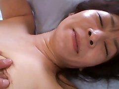 50yr old Granny Satoko Tabata Creampied (Uncensored)