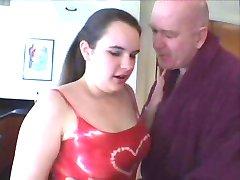 Bbw teen seduced by old man