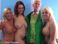 St.Patrick's pornstar orgy party! Vol.1