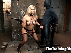 Slave wannabe Holly Heart is shaping up to be quite the little anal slut. This MILF doesnt...