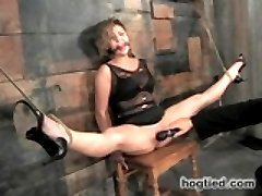 Roxy Rox is a beautiful newcomer to the ways of bondage and kink. I make her first scene one to...