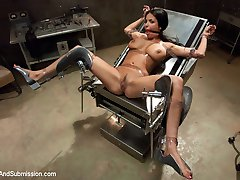 Anissa Kate is a stunningly beautiful French girl with huge natural tits and an insatiable...