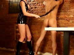 Prurient smoking babe loves making guys feel as if they were her slaves