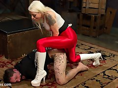 An hour with Mistress Lorelei Lee will make you a better man. Ryan Patrix learns this the hard...